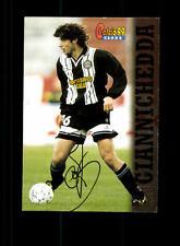 Giuliano Giannichedda Udinese Calcio Sammelcard Original Signiert+ A 156986