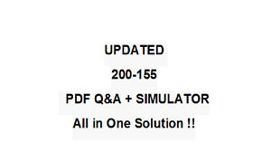 INTRODUCING CISCO DATA CENTER TECHNOLOGIES Exam QA PDF/&Simulator  200-155