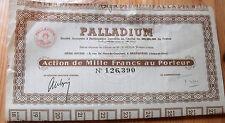 "France Action "" PALLADIUM """