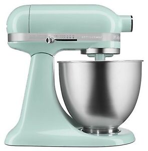 KitchenAid 3.5 Qt Tilt Head Mixer- Ice Blue
