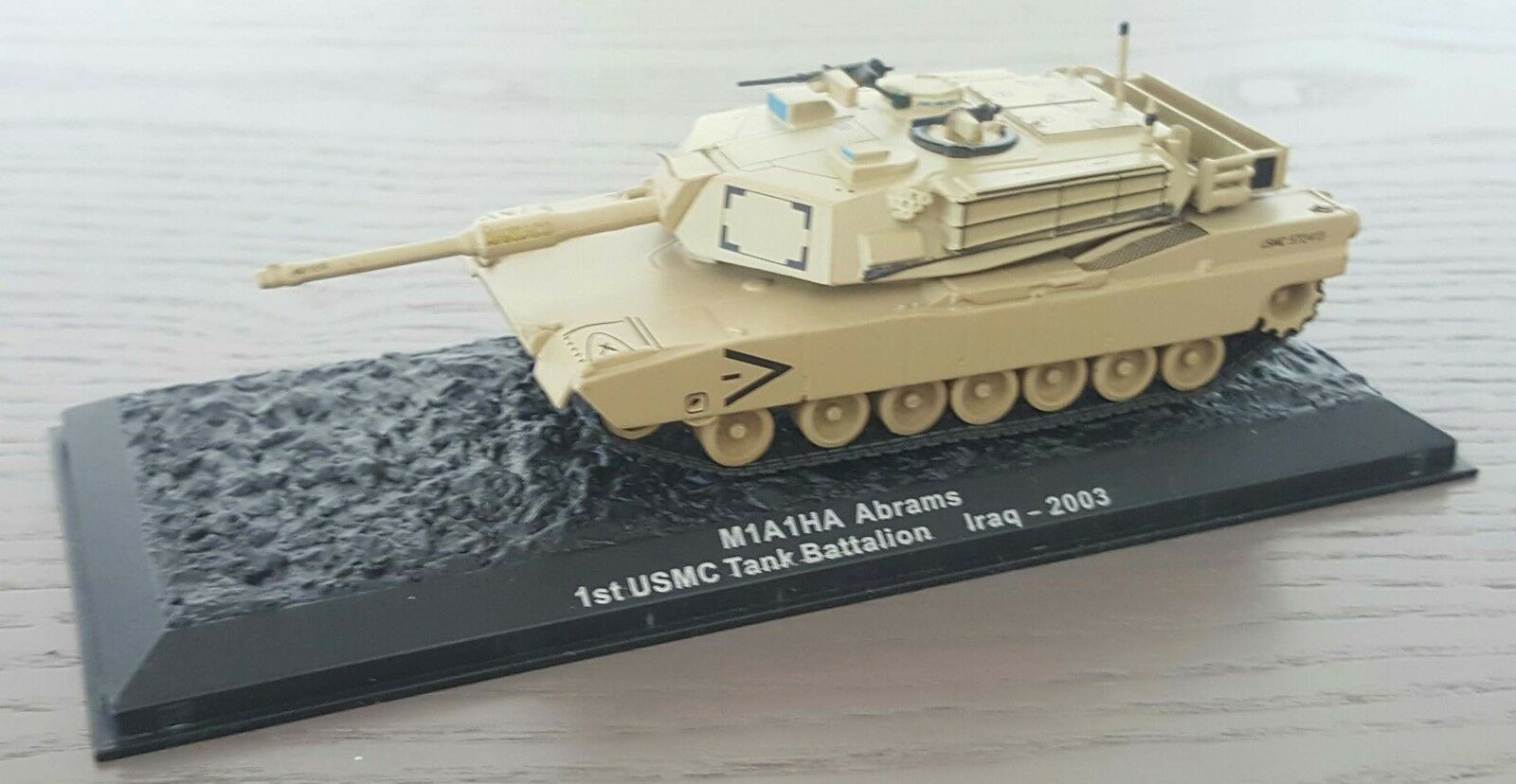 MILITARY MODEL 1:72 Abrams M1A1HA 1st USMC USMC USMC Tank Battalion Iraq 2003 7070ab