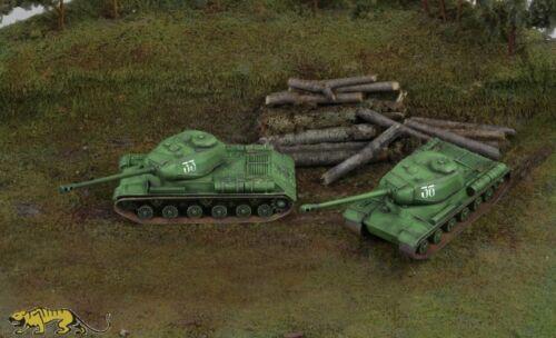 Italeri 7502 Russischer Kampfpanzer IS-2-1:72