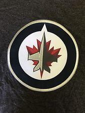 Winnipeg Jets NHL Patch Majestic Charcoal Short Sleeve T-shirt Men's XL NWT