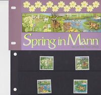 ISLE OF MAN Presentation Pack 1997 SPRING IN MANN 10% off any 5+