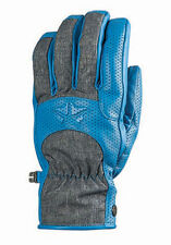 New 2014 Rome Mens The Hoss Snowboard Gloves Large Blue