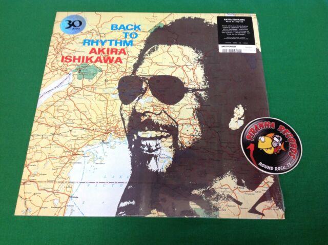 Akira Ishikawa Back To Rhythm 2019 Japanese Jazz Vinyl LP Piranha Records