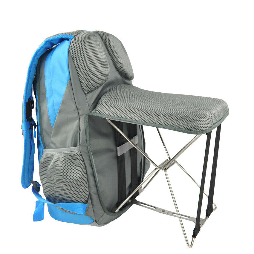 Fishing Chair Folding Outdoor Camping Bag Wearable Stool Gift For Him Her