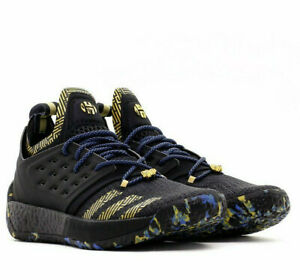 c5fde6969c53 Adidas Harden Vol 2 MVP Black Gold Royal Basketball Shoes James ...