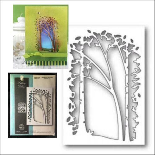 Sapling Collage Frame Metal Die Memory Box Cutting Dies 99738 Trees Frames Birch