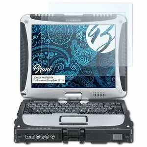 Bruni-2x-Proteggi-Schermo-per-Panasonic-ToughBook-CF-19-Pellicola-Protettiva