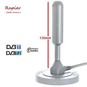 Rapier-130dbia-Freeview-DVB-TV-Aerial-Indoor-Outdoor-Digital-Antenna-Grey