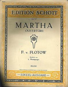 F-v-FLOTOW-034-Martha-Ouvertuere-034-alte-Noten-uebergross