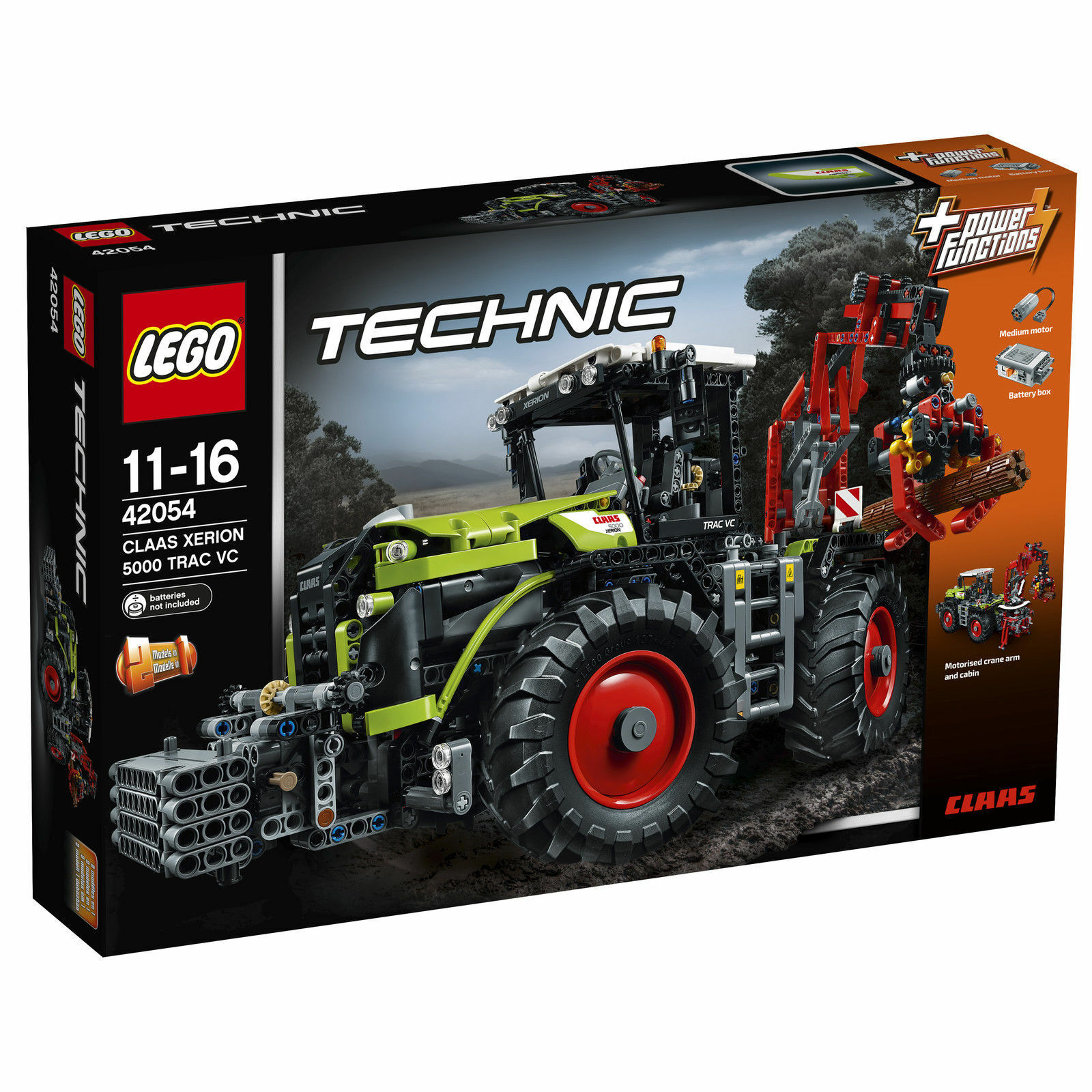 LEGO Technic Claas Xerion (42054) - Neu + OVP + Top
