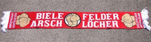 Anti Bielefeld Schal BIELEFELDER.. Ultra Fan Kurve Block + neu + 150x15 cm