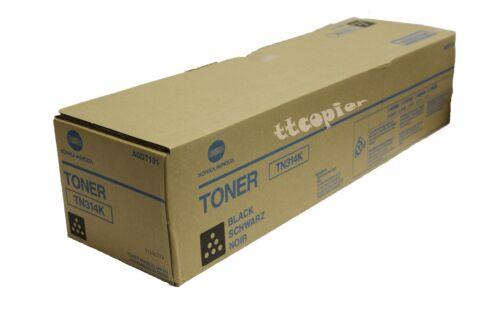 4053-401 Lot of 2 Genuine Konica Minolta C450 C350 C351 BLACK TONER TN310K