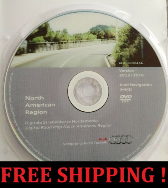 Audi MMI G Navigation DVD North America USA GPS Map Update - Audi mmi update