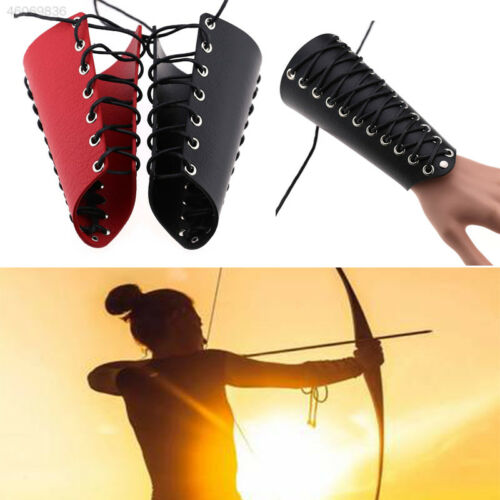 Archery Arm Guard Arm Protective Tools Adjustable Durable 18cm Wax Rope Hand