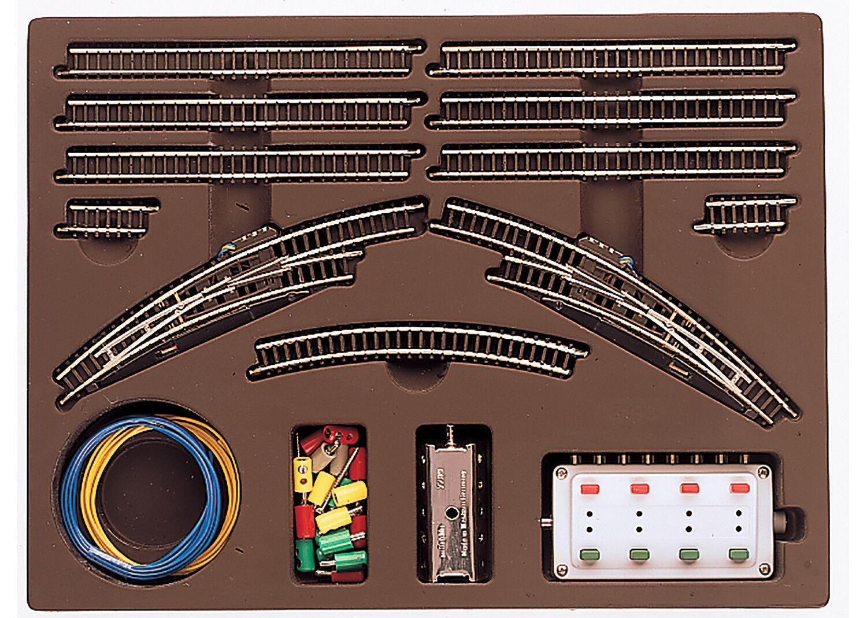 marklin Z 8193  Bahnhofsgleispackung T2 Merce Nuova