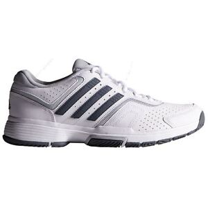 Image is loading ADIDAS-WOMENS-Barricade-count-W-M21710-White-Onix-