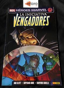 COMIC-LOS-VENGADORES-INICIATIVA-3-Panini-Comics-Espanol-NUEVO-NEW-MARVEL-Spanish