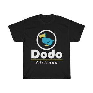 S-3XL Free Shipping Animal Crossing Dodo Airlines Blue Dodo Shirt Size