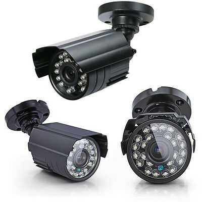 700TVL Waterproof Outdoor CCTV Security Camera IR Colour Night Vision 3.6mm Lens