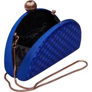 Clutch bandolera Ted oro azul Baker Detail rosa bandolera Bobble Weave wqAIq6O