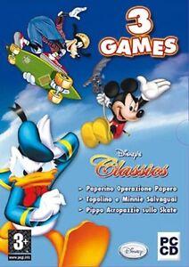 Disney-Classics-Box-3-Giochi-Per-PC-CD-Rom