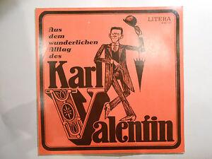 Schallplatte  ST33  Aus dem wunderlichen Alltag des Karl Valentin