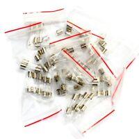 10 Values 5x20mm 250v Fuses Assorted Kit 0.1a 0.2a 0.5a 1a 2a 3a 4a 5a 10a 12a