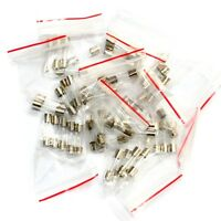 10 Values 5x20mm 250v Fuses Assorted Kit 0.1a 0.2a 0.5a 1a 2a 3a 4a 5a 10a 12a
