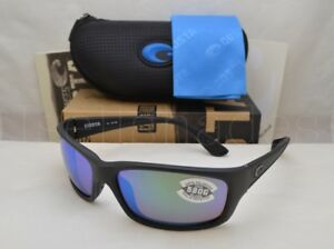 c525e6fd6a Costa Del Mar JOSE (JO 01 OGMGLP) Blackout with Green Mirror Lens ...
