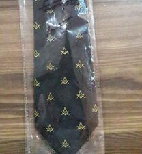 Masonic Blue Ties Square /& compass Tie Master Mason Ties Masonic Necktie MM