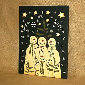 Lighted-Canvas-Snowman-Families-Are-Forever-Winter-Christmas-Wall-Picture-Timer