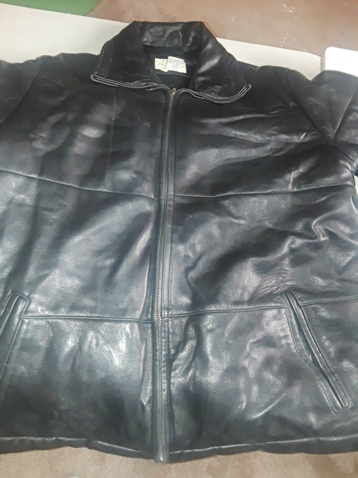 Paradox Leather Leather Leather Coat (Size XL) 22300d