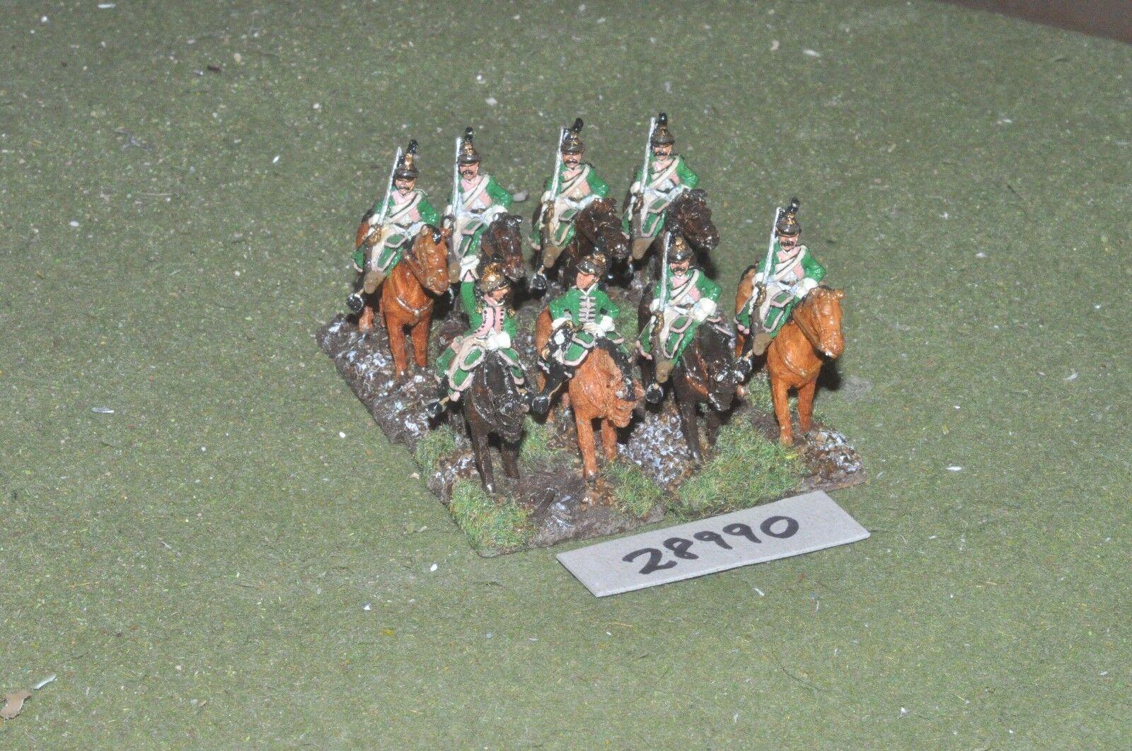 barato 25mm napoleónicas francés-Dragones francés-Dragones francés-Dragones 8 figuras-CAV (28990)  mas barato