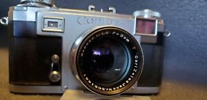 Zeiss-Contax-IIa-Rangefinder-COLOR-Dial-Film-Camera-w-Sonnar-50mm-1-1-5-Lens-ll