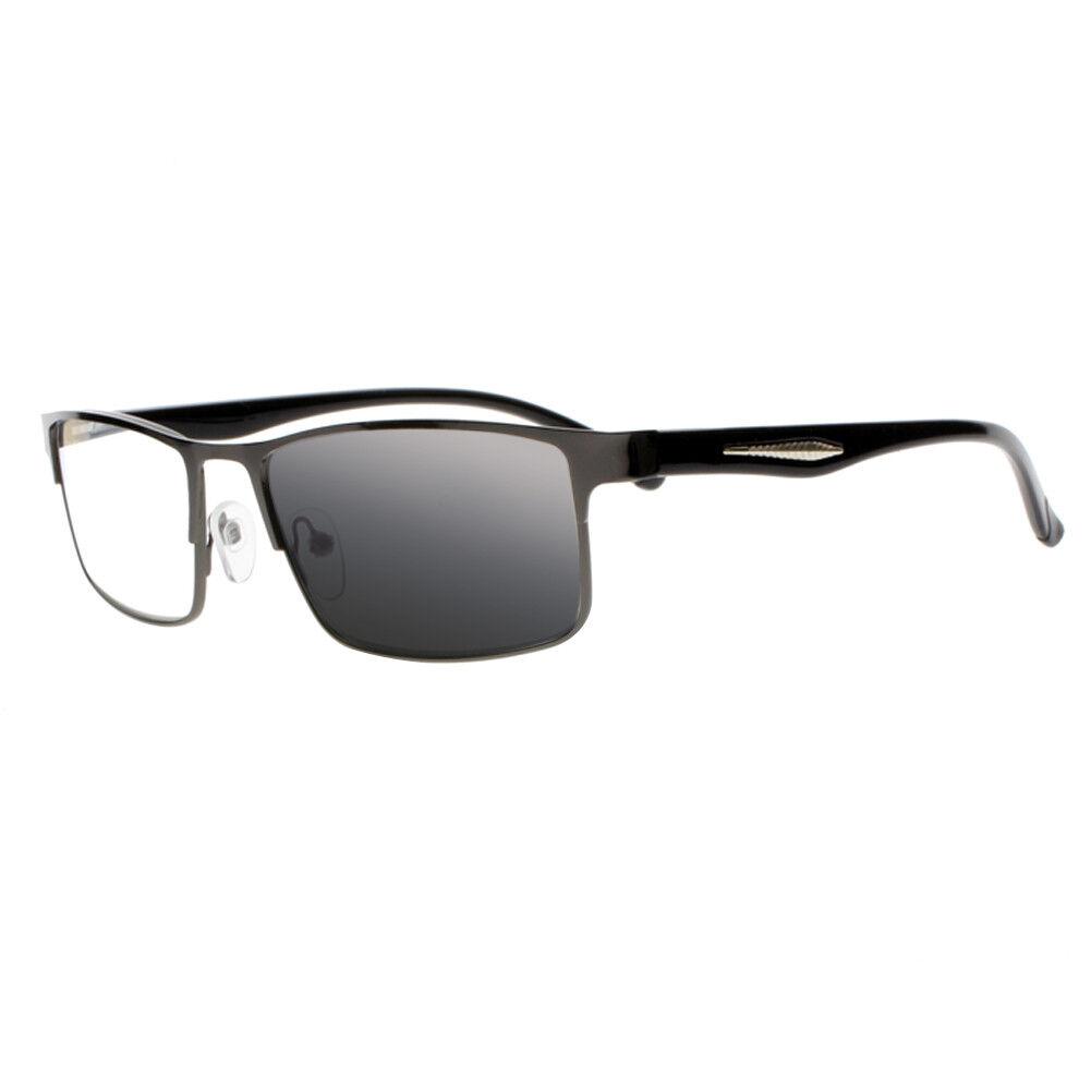 a816c02e546f Details about Multifocal Progressive Transition Photochromic Men UV Reading  Glasses Sun Reader