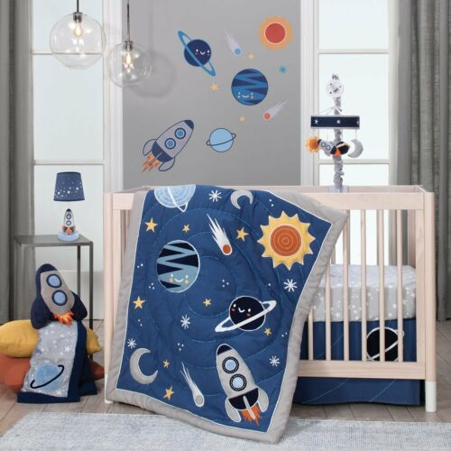 Lambs /& Ivy Milky Way Baby Nursery Crib Bedding Set CHOOSE FROM 4 /& 5 Piece Set