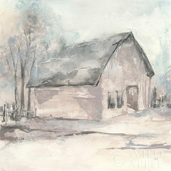Chris Paschke  Barn I Keilrahmen-Bild Leinwand Bauernhof Scheune Hütte Shabby