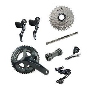 Shimano-Ultegra-R8000-2-x-11-Speed-52-36T-Road-Racing-Bike-7-pieces-Build-Kit