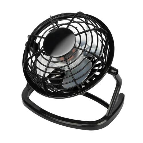 Mini Desk Fan Small Super Quiet Personal Air Cooler USB Power Portable Table Fan