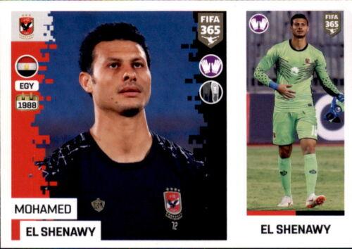 Sticker 352 a//b Al Ahly SC Panini FIFA365 2019 Mohamed El Shenawy