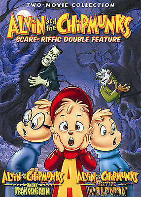 Alvin And The Chipmunks Scare Riffic Double Feature Dvd 2007 New Sealed Oop 25195014229 Ebay