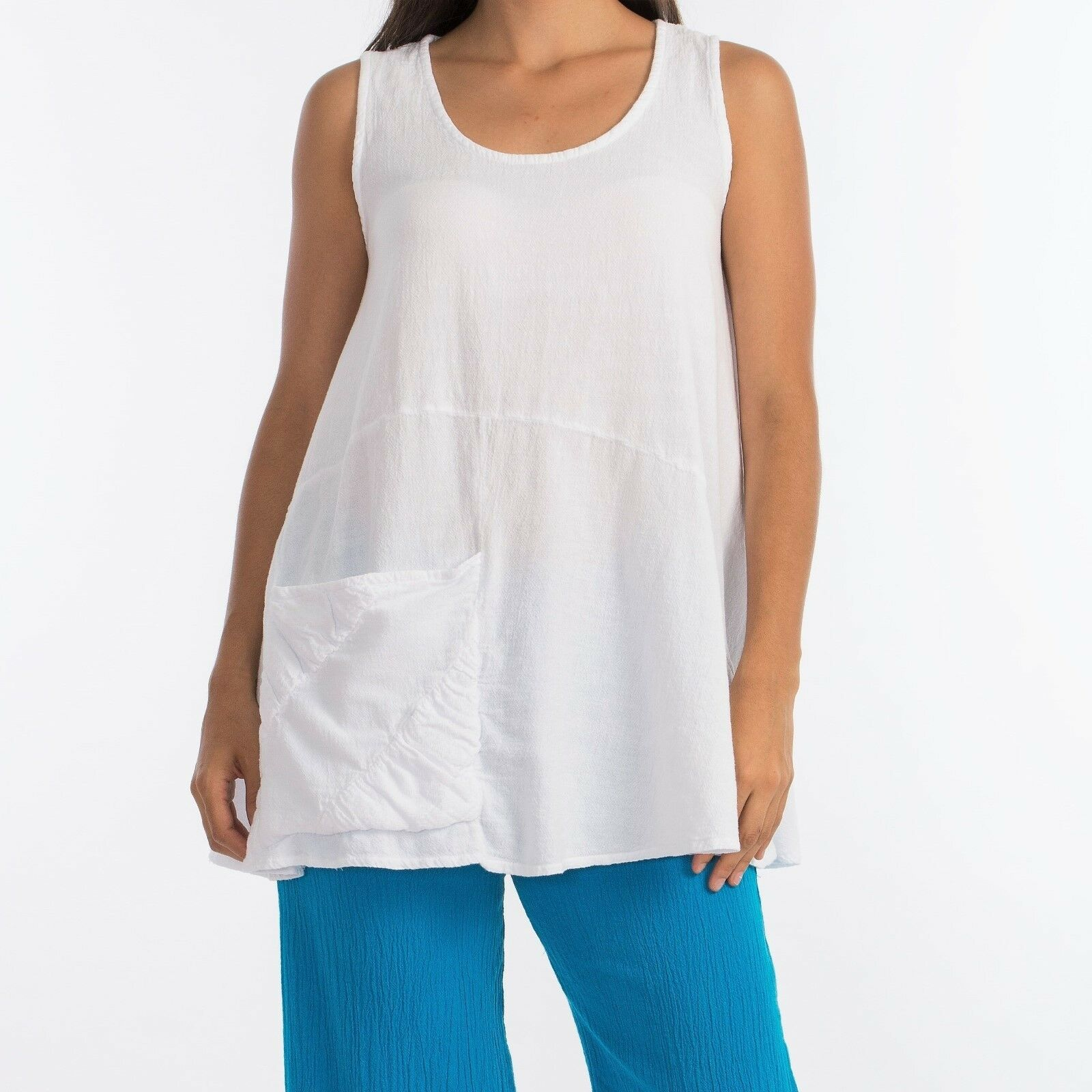 Sparrow Top by Dunes Relaxed Fashions, New with Tags, 100% Cotton, Free Shipping