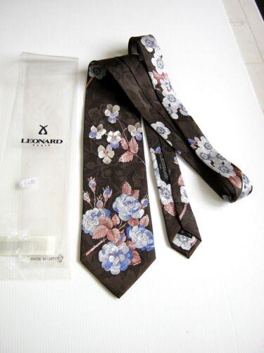 Nuova 72554 New Paris Made In Silk Originale Dessin Italy Leonard BTUOq5w7