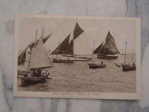 Ancienne Carte Postale Quiberon Régates à Port Haliguen Upqwa60o-10121405-528063464