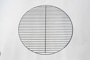 54 5 cm ggc chrome grillgitter rund grillrost grill kugelgrill f r weber 57 ebay. Black Bedroom Furniture Sets. Home Design Ideas