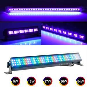 9W-18W-27W-36W-LED-UV-Black-Light-USB-Bar-Stage-Disco-Christmas-Club-Party-Lamp