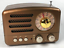 Mini-Retro-Radio-AM-FM-SW-with-Bluetooth-Speaker-and-Play-TF-Card-Rechargeable thumbnail 9